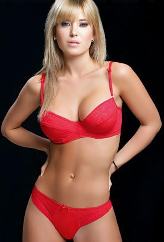 Jessica Cirio in lingerie
