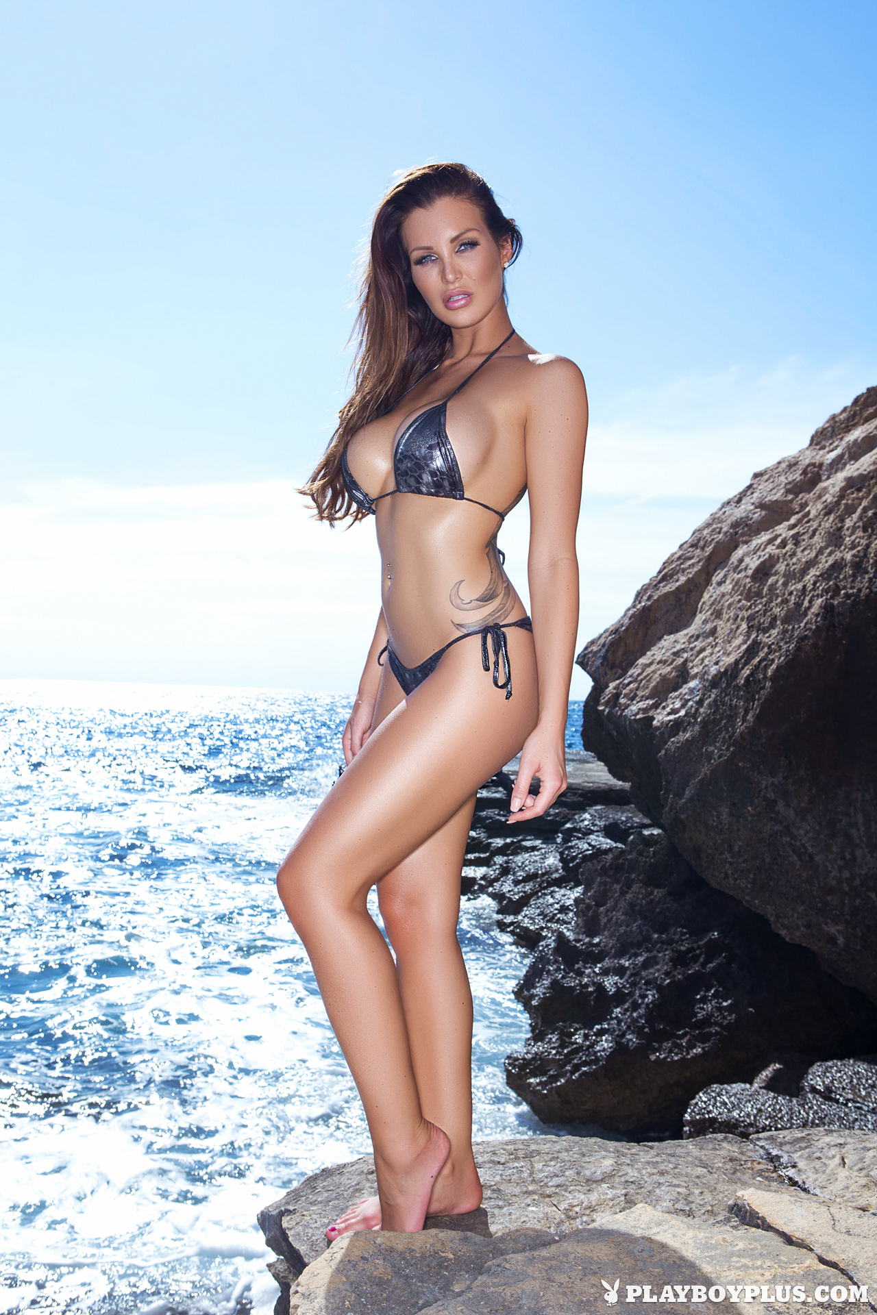 Helen de Muro in a bikini