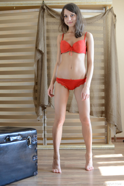 Katia Ivanona in lingerie