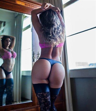 Graciella Carvalho in lingerie - ass