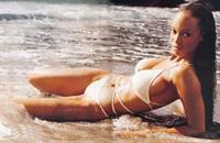 Tyra Banks in a bikini