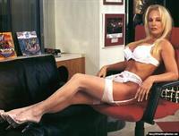 Debra Marshall in lingerie