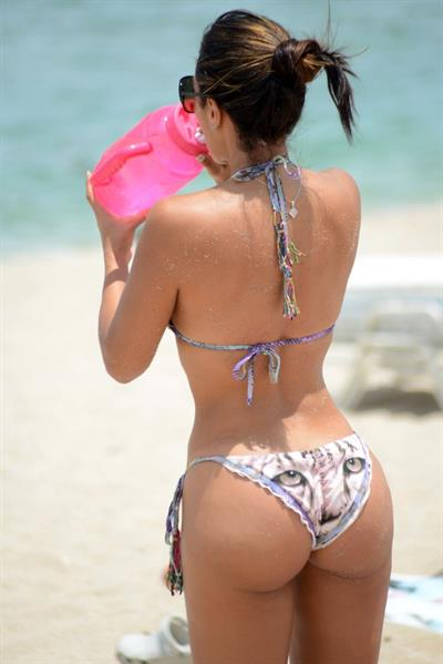 Andrea Calle in a bikini - ass