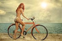 Mara Roldan in a bikini - ass