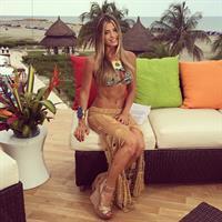 Cristina Hurtado in a bikini