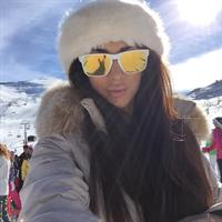 Georgia Salpa taking a selfie