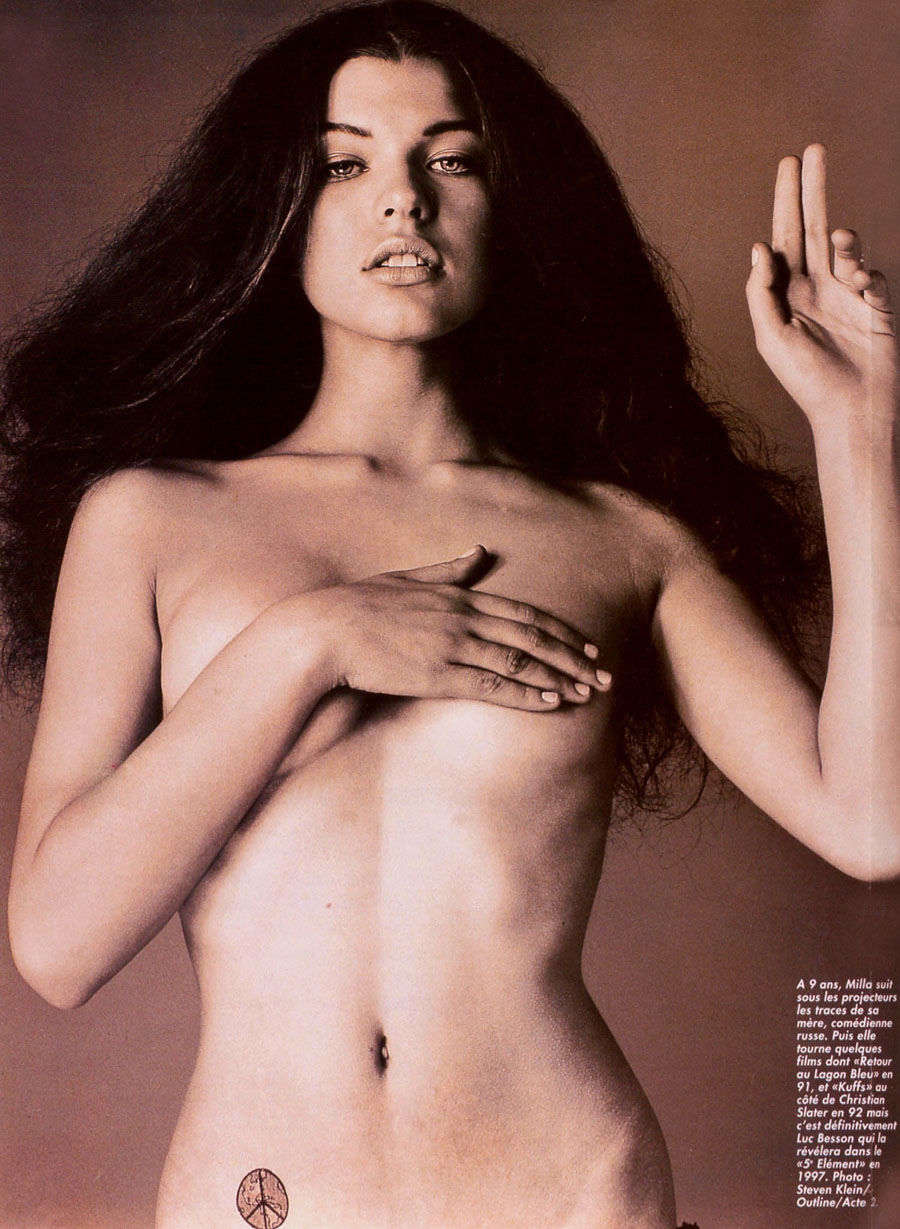 Milla Jovovich Nude Pictures Rating