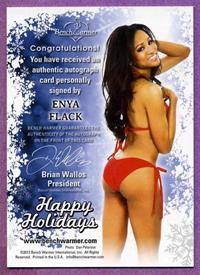 Enya Flack in a bikini - ass