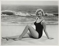 Diane McBain in a bikini