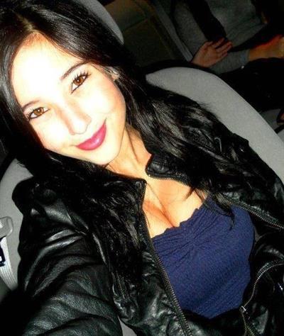 Angie Varona taking a selfie