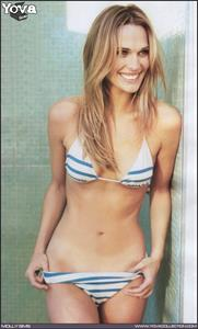 Molly Sims in a bikini