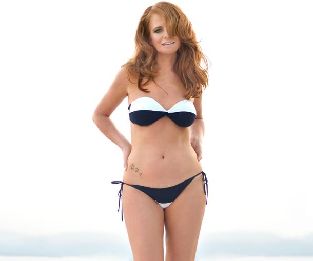 Patsy Palmer in a bikini