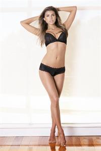 Jade Cara in lingerie