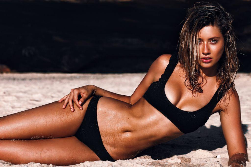 Caitlyn Paterson in a bikini
