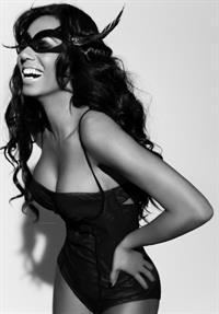 Melanie Brown in lingerie