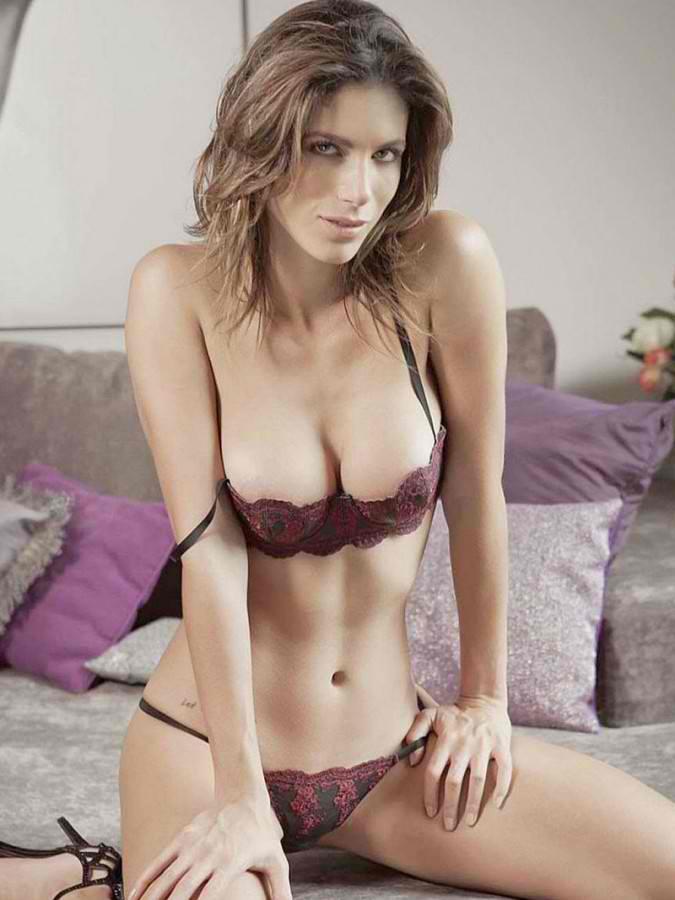 Bruna Goncalves in lingerie