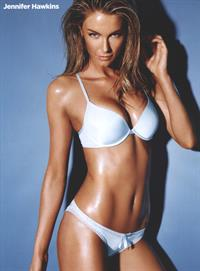 Jennifer Hawkins in a bikini