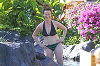 Alanis Morissette in a bikini