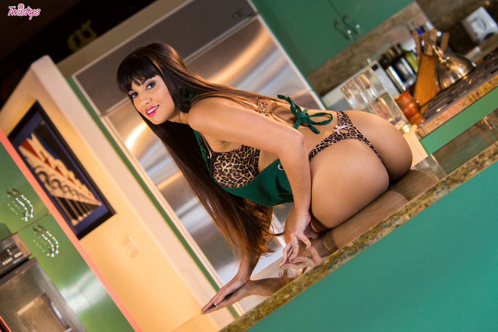Somethin's Cookin'.. featuring Mercedes Carrera | Twistys.com