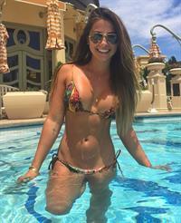 Gabriella Lenzii in a bikini