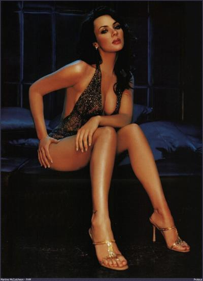 Martine McCutcheon in lingerie