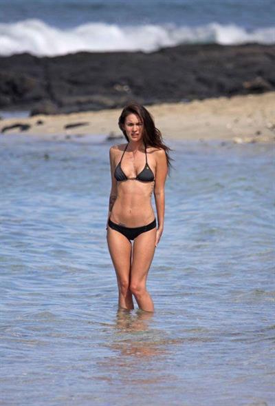 Megan Fox in a bikini