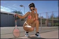 Cori Nadine in a bikini