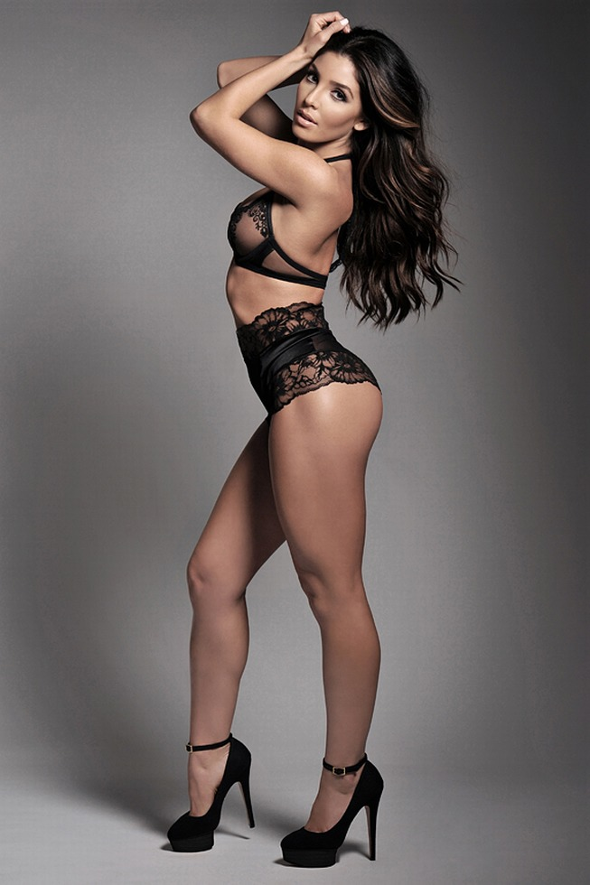 Melissa Molinaro in lingerie