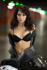 Yuliya Snigir in lingerie