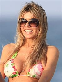 Rita Rusic in a bikini on the beach