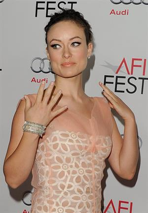Olivia Wilde Butter special screening at AFI Fest in Los Angeles on November 6, 2011