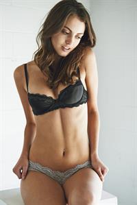 Trew Mullen in lingerie