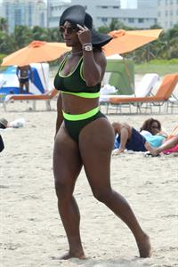 Serena Williams in a bikini